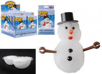 Make your own slushy snowman