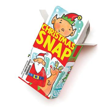 Christmas snap card game