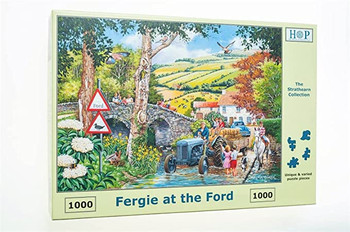 Fergie at the Ford 1000pc jigsaw house of puzzles