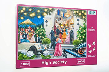 High society 1000 piece jigsaw house of puzzles