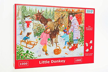 Little donkey 1000 piece jigsaw house of puzzles
