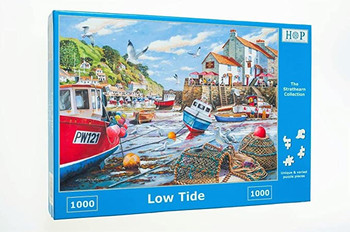 Low tide 1000pc jigsaw house of puzzles