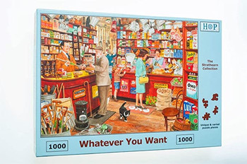 Whatever you want 1000 piece jigsaw house of puzzles
