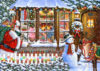 No 16 with love from Santa 1000 pi3ce house of puzzles spot the difference