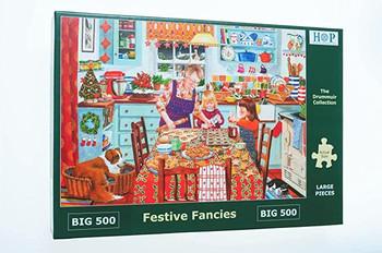 Festive fancies big 500 house of puzzles