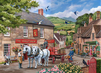 Pulling their weight big 500 house of puzzles jigsaw