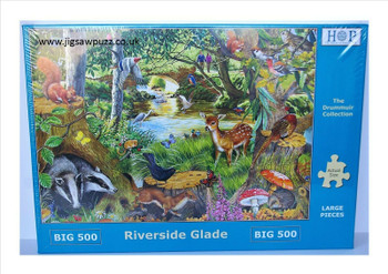 Riverside glade big 500pc jigsaw house of puzzles