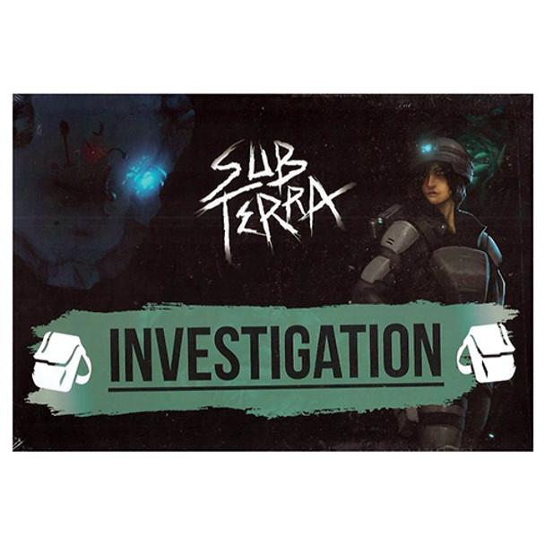 sub terra expa investigation game