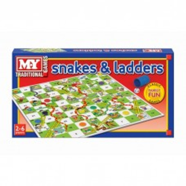 my snakes and ladders game