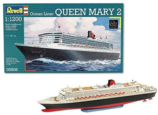 Revell Queen Mary 2 cruise Liner 1:1200 model kit