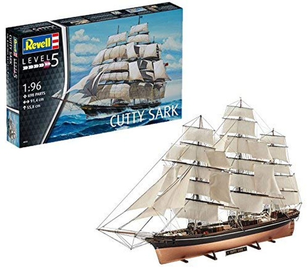 Revell Cutty Stark model kit click and collect only