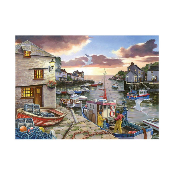 House of puzzles 250 big pieces Harbour Lights