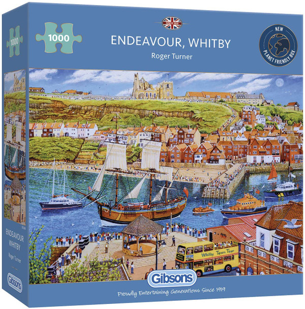 Gibson 1000pc jigsaw Endeavour, Whitby
