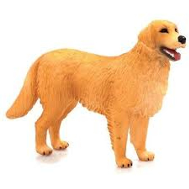 Golden Retriever Dog Toy Figure