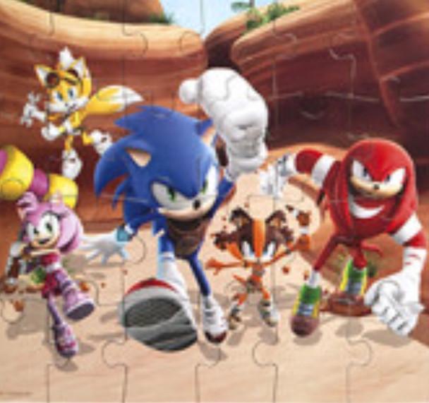 Sonic Boom 24 piece Jigsaw