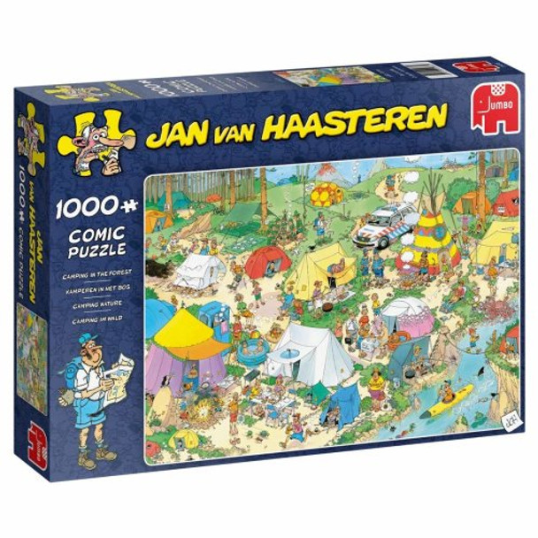 JVH 1000 piece Jigsaw Camping in the Forest