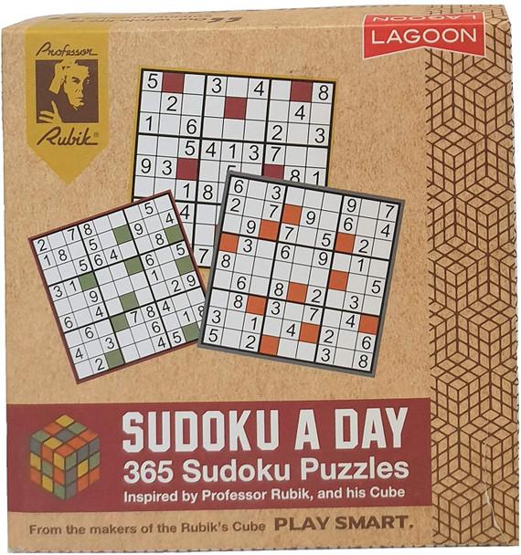 Professor Rubia Sudoku a Day Deskblock