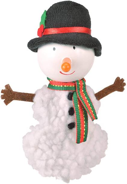 Fiesta finger puppet snowman