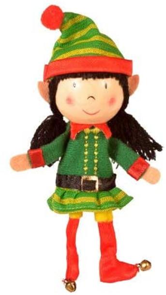 Fiesta elf puppet girl