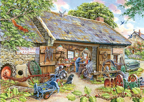 House of Puzzles 1000 piece jigsaw make and mend