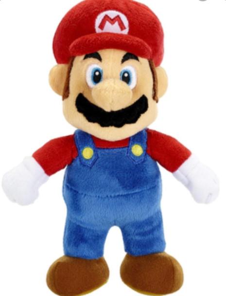 "Mario 8"""" soft toy"