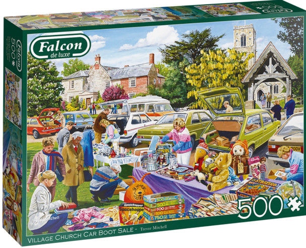 Falcon 500 piece jigsaw vilkage church car boot sale