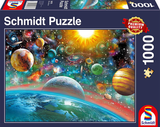 Outer space 1000 piece jigsaw