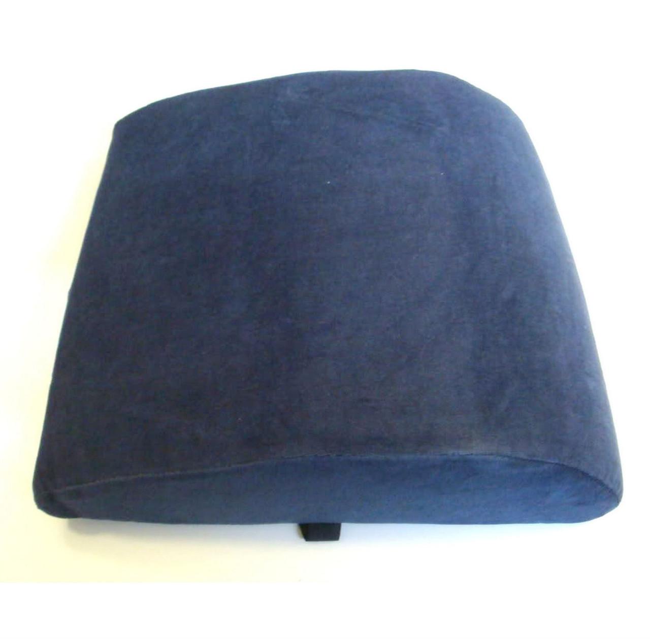Large Back Support Lumbar Cushion Memory Foam Car Chair