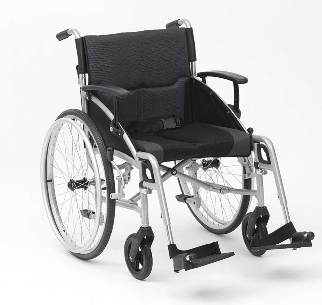 Drive Phantom 19'' Self Propelled Wheelchair With Adjustable Arm and Foot  Rests