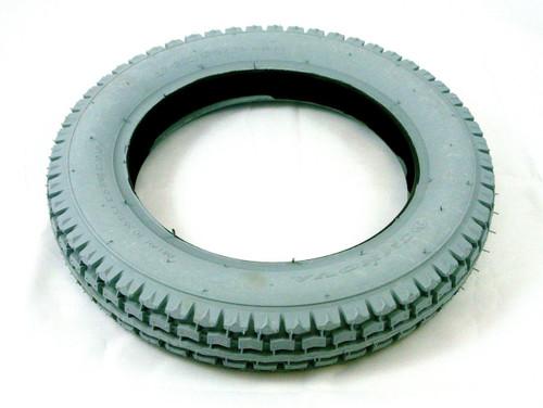 12'' Grey Block Tread Innova Pneumatic Tyre TG12 Heavy Duty