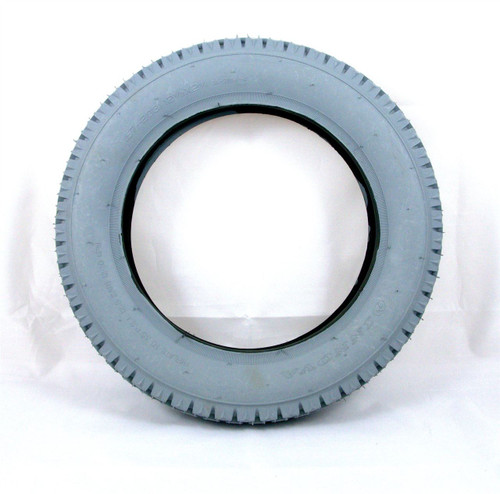 12'' Grey Block Tread Innova Pneumatic Tyre TG12 12 1/2 x 2 1/4