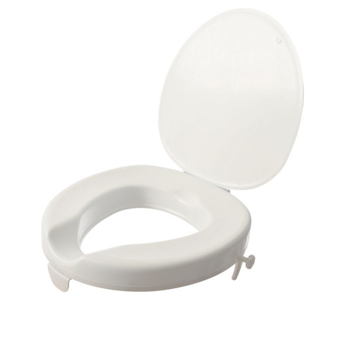 2'' Serenity Raised Toilet Seat with Lid