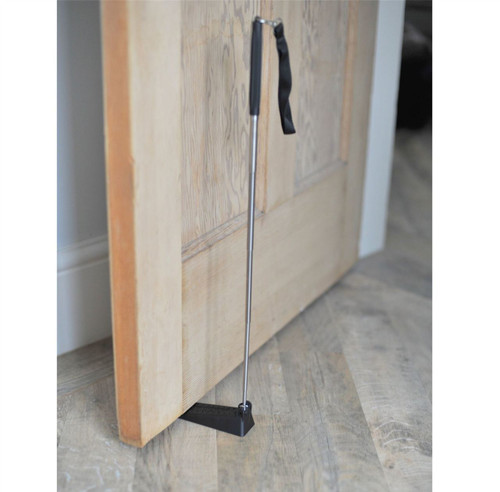 Long Handled Fold Away Door Wedge Disability Aid for Limited Mobility