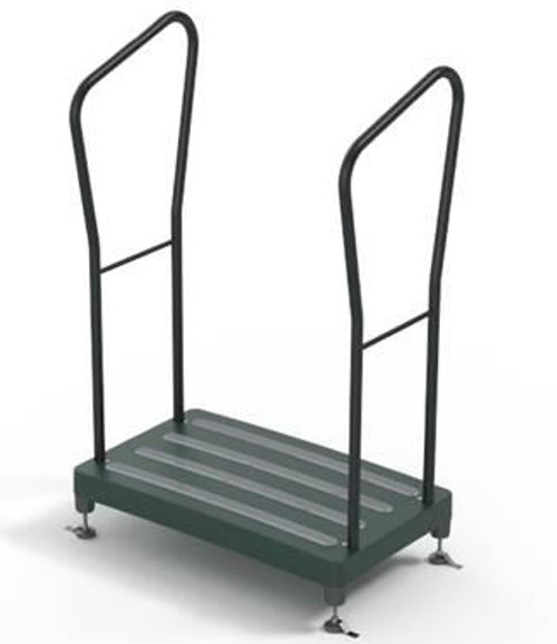 Bigfoot Half Step Outdoor Step With Handles