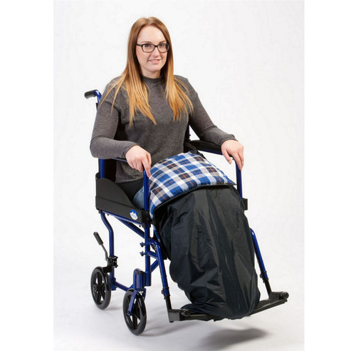 RT-LC1 Wheelchair Cosie Tartan Padded Blanket