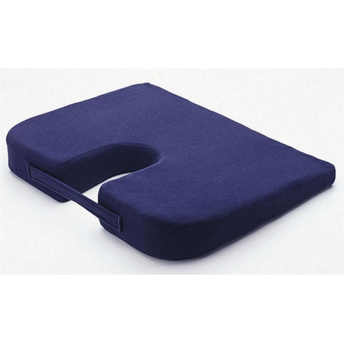 Drive Blue Coccyx Titling Cushion with Cut out