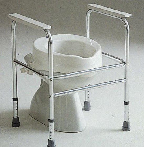Adeo Invacare Toilet Surround Adjustable Height