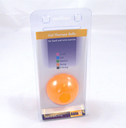 Able 2 Orange Firm Therapy Hand Exercise Ball
