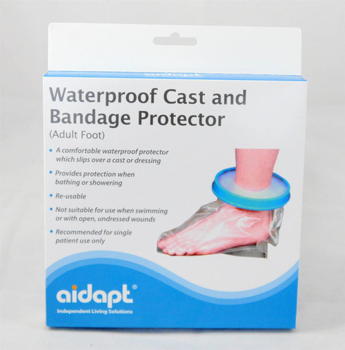 VM201 Adult Foot Cast Protector Washing Aid Shower Foot Cover
