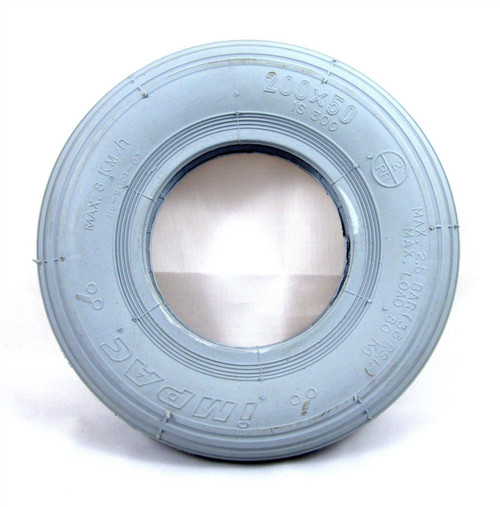 200x50 tyre grey rib