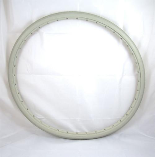 MOBI-24 24'' Greentyre Solid Grey Wheelchair Tyre Puncture Proof