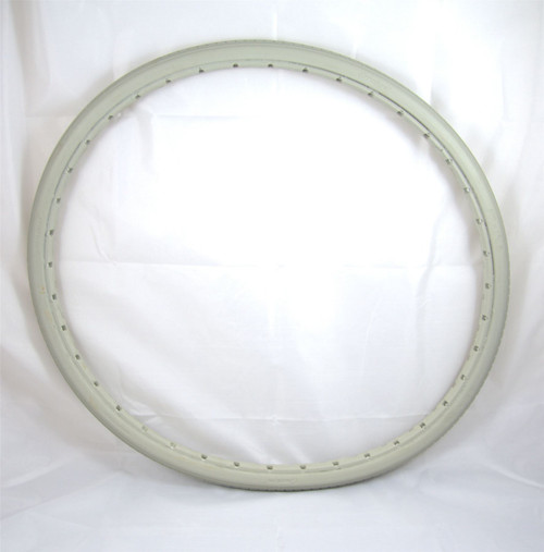MOBI-24 24'' Greentyre Solid Grey Wheelchair Tyre Puncture Proof