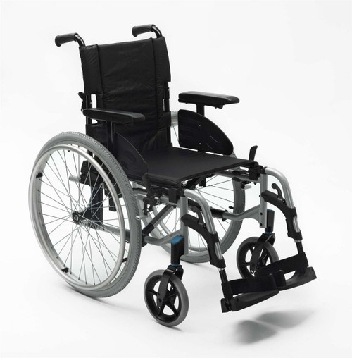 Invacare Action 2 NG Lightweight Wheelchair 19'' Self Propelled Push Yourself Big Wheels