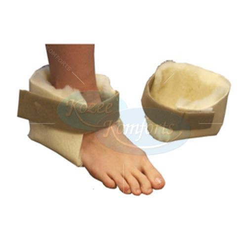 Pure Wool Heel Protectors Pair for Comfort Feet