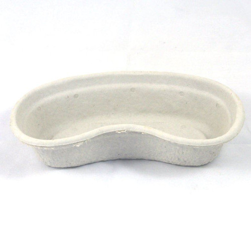 10 x 105AA260PER10 Disposable Pulp Kidney Dish Bowls Hospital Style for Medical and Nursing Care