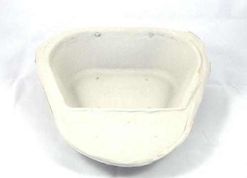25 Pulp Cardboard Dispoable Slipper Bed Pan Liner Biodegradeable For Home or Nursing Care Hospital Style