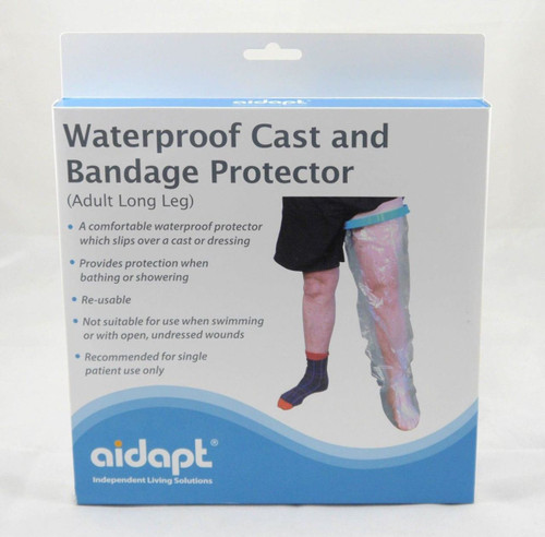Waterproof Aidapt Adult Long Leg Cast Bandage Dressing Protector Cover