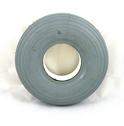 260x85 3.00-4 300x4 Solid Grey Rib Infilled Tyre Puncture Proof for Mobility Scooter