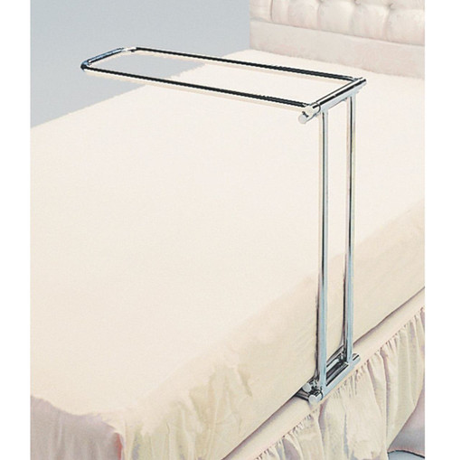 Chrome Folding Bed Cradle Lifts Bedding off Legs 5406