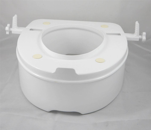 Brilliant Able2 15Cm Raised Elevated Toilet Seat Cjindustries Chair Design For Home Cjindustriesco